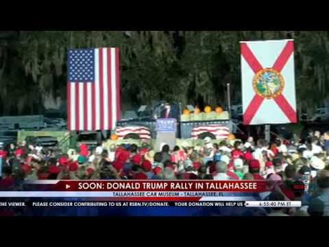 LIVE Stream: Donald Trump Rally in Tallahassee, FL 10/25/16