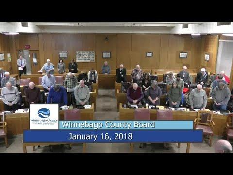 Winnebago County Board - 1/16/18