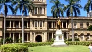 ぶらりハワイ旅 カメハメハ大王像
