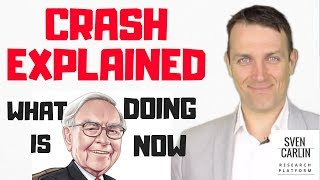 STOCK MARKET CRASH EXPLAINED -NEWS AND HOW IS BUFFETT PREPARED