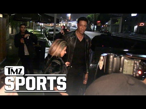 SCOTTIE PIPPEN & LARSA -- BACK TOGETHER...WITH HUGE DIAMOND RING   TMZ Sports