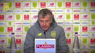 VIDEO: ASSE-FCN : l'avant-match avec Christian Gourcuff