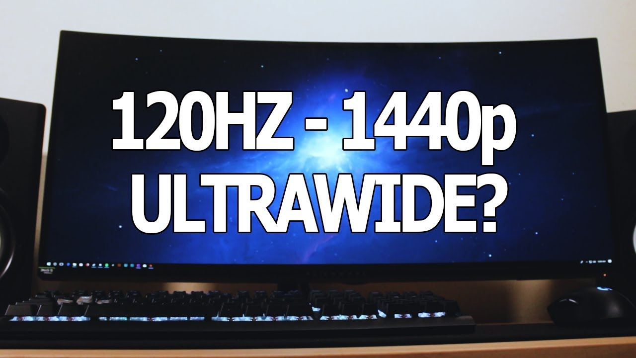 120 HZ - 1440p ULTRA-WIDE MONITOR?? ALIENWARE AW3418DW