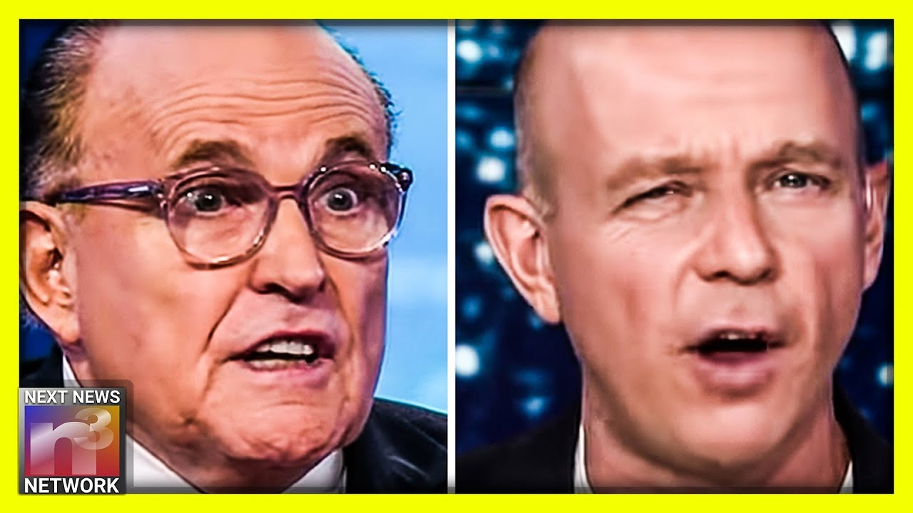 FIREWORKS! Rudy Threatens to Sue Fox News Host Steve Hilton For Slanderous Hit Piece