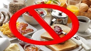 body building 5 Foods you should NEVER eat for breakfast