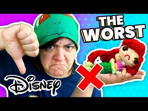 CASH or TRASH? Testing 3 Disney Craft Kits Princess Aquabeads, Crochet, Slime from Walmart