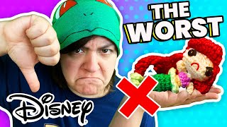 CASH or TRASH? Testing 3 Disney Craft Kits Princess Aquabeads, Crochet, Slime from Walmart