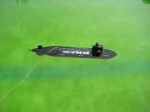 Mô hình thiết bị lặn Submarine No.1