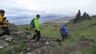 Talisker Storm Adventure - Day 2, Staffin to Portree