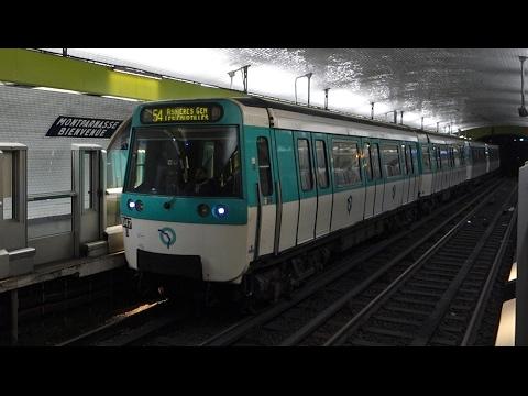 Paris Metro - Montparnasse-Bienvenüe
