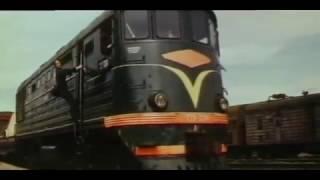Тепловозы ТЭ3 из фильма Подарки по телефону