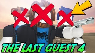 EVERYTHING WRONG WITH THE LAST GUEST 4 THE GREAT WAR! (Roblox Reaction)
