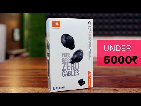 Best True Wireless Earbuds Under 5000 🔥 ( JBL TWS C115 Unboxing )