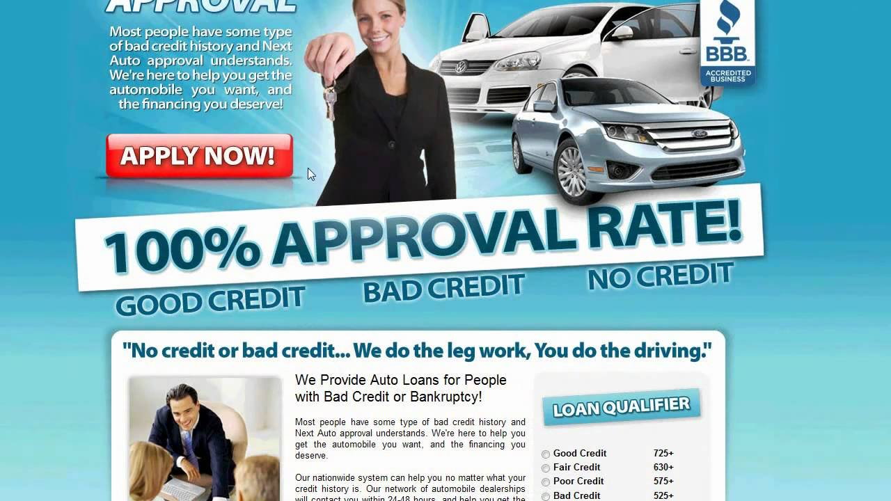 No Credit Car Dealerships >> Bad Credit Car Loans Auto Financing For People With Bad