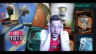 FIFA Mobile Packsanity ep 11! TOTS Starter Pack, TOTS Packs, Team Hero Packs and More!