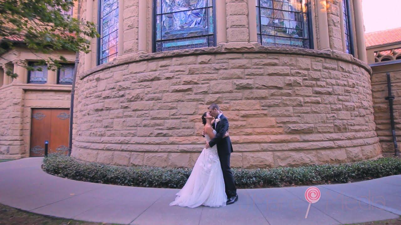 A Stanford Memorial Church Wedding Tina Matthew
