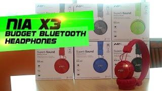 NIA X3 Budget Bluetooth Headphones Review