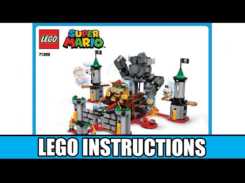 LEGO Instructions: How to Build Bowser's Castle Boss Battle Expansion Set   71369 (LEGO SUPER MARIO)