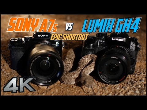 Sony A7s vs Panasonic GH4 Epic Shootout in 4K | Which Mirrorless Camera To Buy? | Tutorial Training