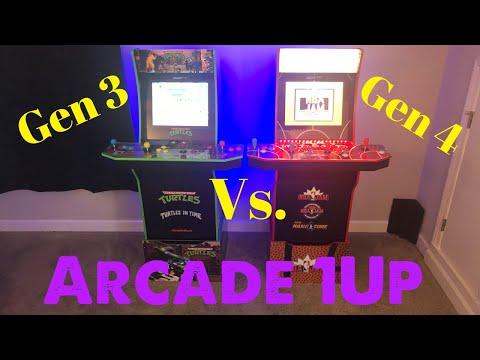 Arcade 1up Gen 3 vs Gen 4 from Some Dude