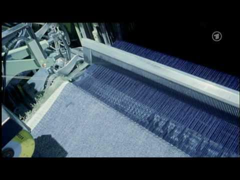 vom stoff zur hose wie eine jeans hergestellt wird 1 von 2 youtube. Black Bedroom Furniture Sets. Home Design Ideas