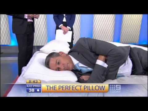 Today Show Interview : Tips on selecting the perfect pillow.