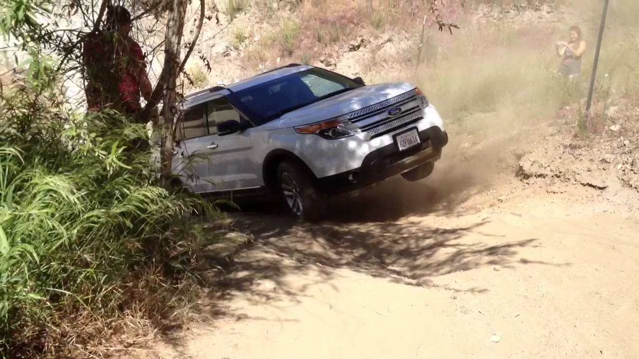 2014 Ford Explorer Xlt Off Road Youtube