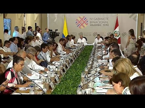 Leaders from Peru and Colombia meet as situation worsens in Venezuela