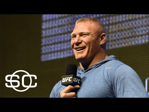 Brock Lesnar vs. Jon Jones Matchup A Possibility | SportsCenter | ESPN