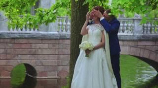 Алексей и Ольга. Свадьба в Пушкине. (Видео для instagram)