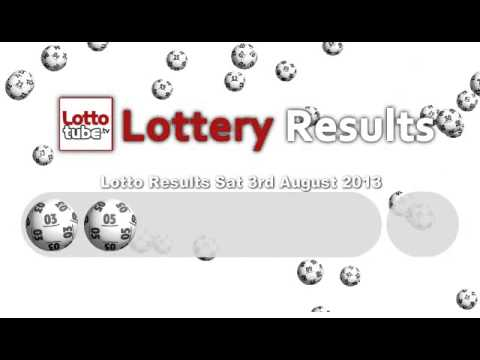 Sat Lotto Result