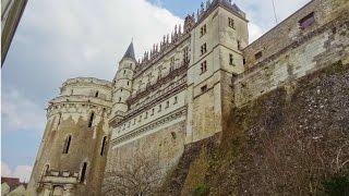 Франция, Замок Амбуаз, По Дороге в Бордо(Франция, замок Амбуаз в долине реки Луары, где в небольшой часовне, покоится Леонардо да Винчи. Окрестности..., 2016-03-12T09:30:01.000Z)