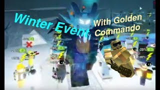 Roblox | Tower Battles | Winter Event w/ Golden Commando (Otaku's)