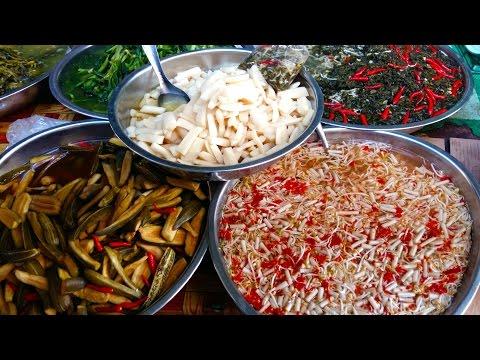 Market Street Food In Asia - Cambodian Market Street Foods