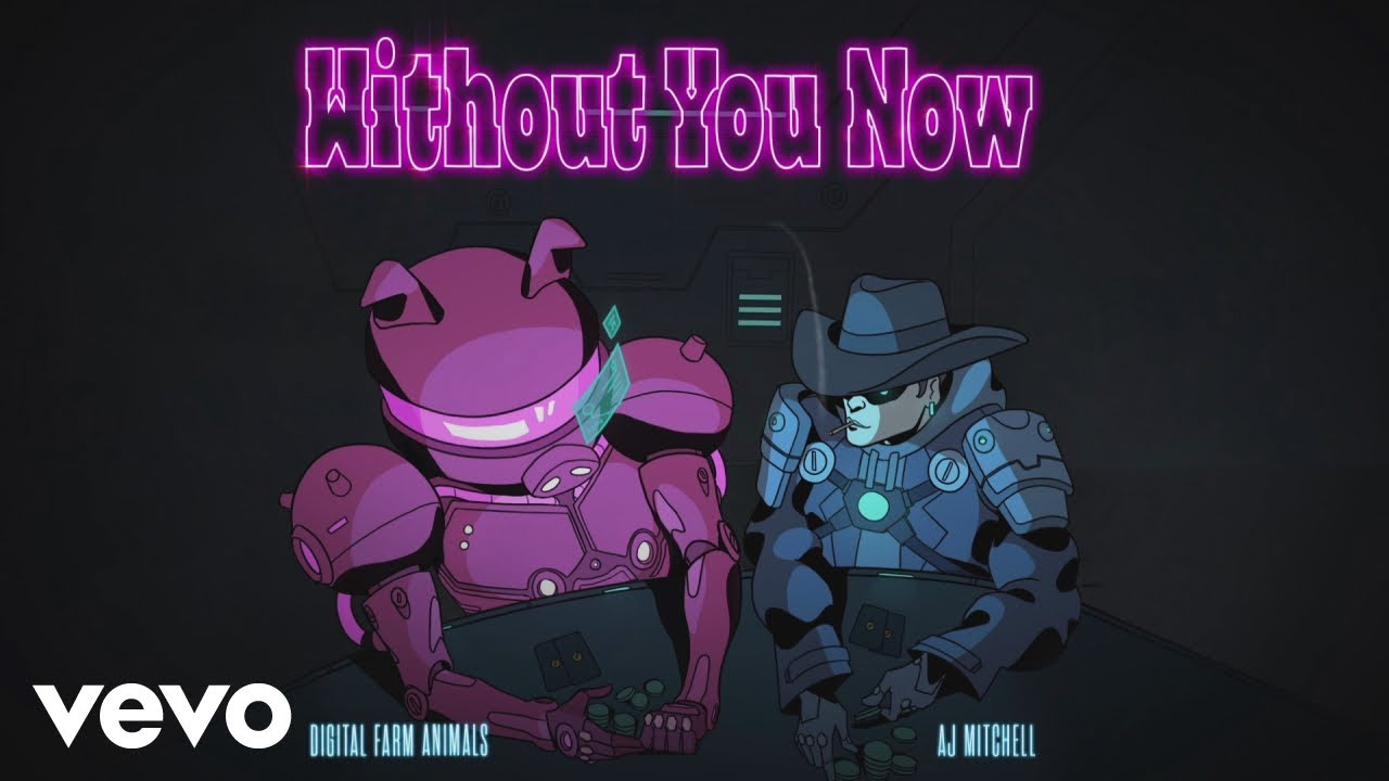 Digital Farm Animals, AJ Mitchell - Without You Now (feat. AJ Mitchell) (Official Audio)