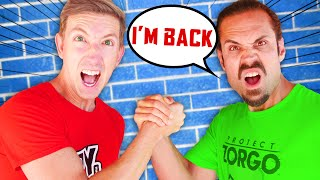 JUSTIN is BACK! Best Friend Trains with Spy Ninjas on How to be a YouTuber