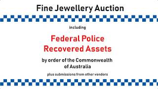 PUBLIC AUCTION - POLICE RECOVERED ASSETS + more - Public Holiday Monday, 7 October 2019