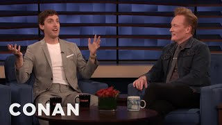 "Thomas Middleditch & Conan Recreate A Scene From ""Godzilla: King Of The Monsters"" - CONAN on TBS"