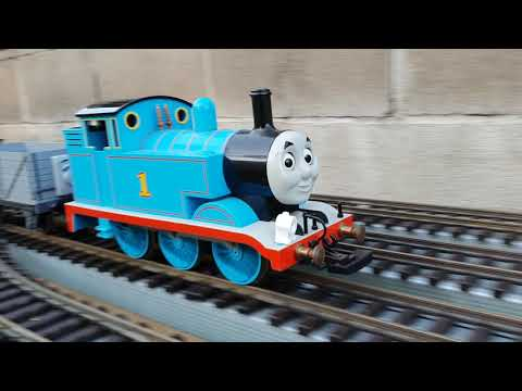 Bachmann Thomas g scale with kit bashed cars