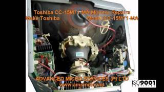 Toshiba CC-15M71-MA Monitor Repairs @ Advanced Micro Services Pvt.Ltd,Bangalore,India