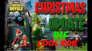 FORTNITE BATTLE ROYAL CHRISTMAS UPDATE DLC PLUS SPECIAL GIVEAWAY ON CHRISTMAS DAY ROAD TO 4.5K SUB