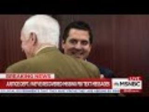 Missing FBI Text Messages have Been Found | Trump World News | MSNBC #4