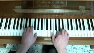 Am Weihnachtsbaume die Lichter brennen - Klavier, mit Noten Download Link