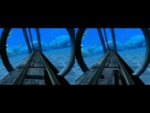 "VR movie ""Modern rail"" for oculus rift,samsung gear vr glasses,vr box,htc vive"