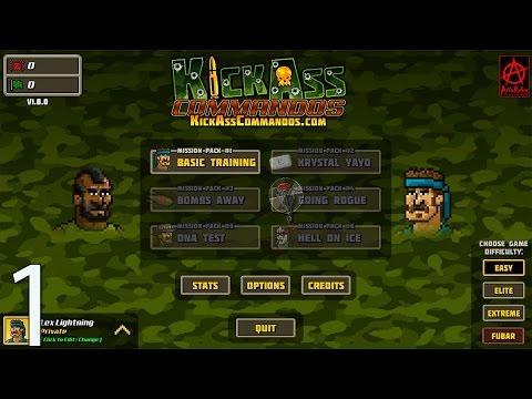 Kick Ass Commandos - Part 1 - Mindless Shooting And Explosives.... i Love It |
