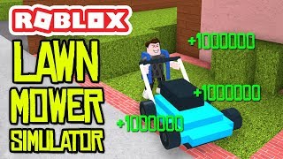 ROBLOX LAWN MOWER SIMULATOR