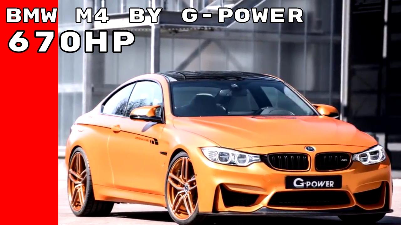 Bmw M4 G Power Auto Bild Idee