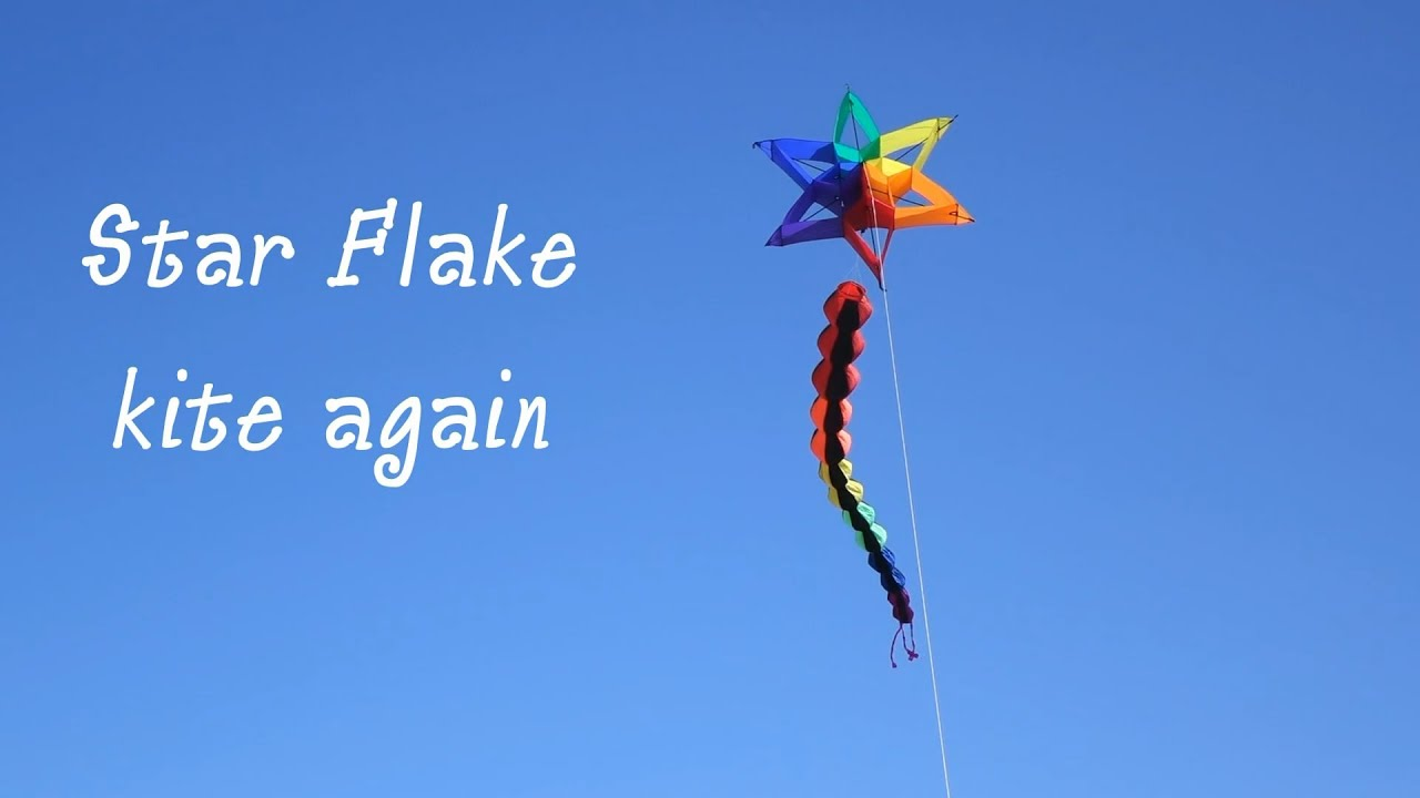 Starflake Kite Melon Tube Tail