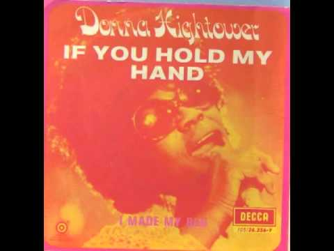 If You Hold My Hand  DONNA HIGHTOWER