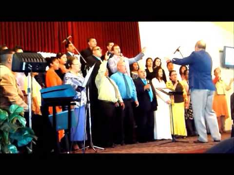 Apostolic Gospel Church Choir of Delano Singing Holy